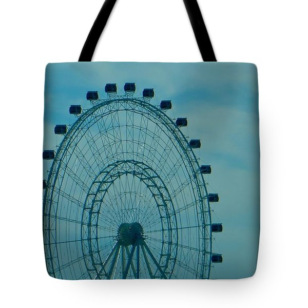 Ferris Wheel Fun Tote Bag