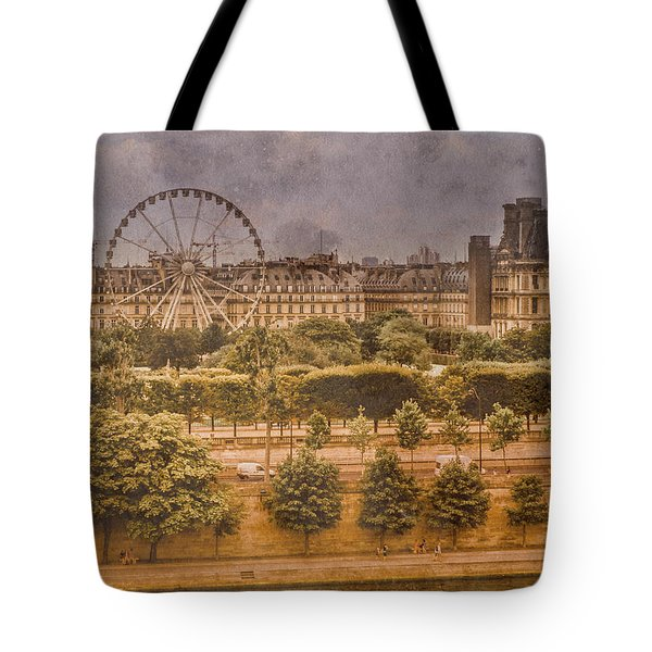 Paris, France - Ferris Wheel Tote Bag