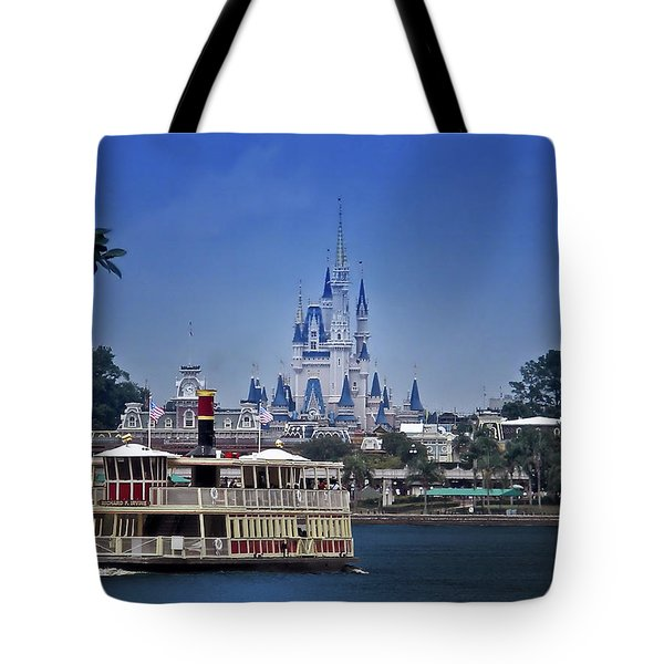 Ferry Boat Magic Kingdom Walt Disney World Mp Tote Bag