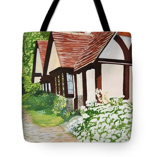 Ferry Cottage Tote Bag