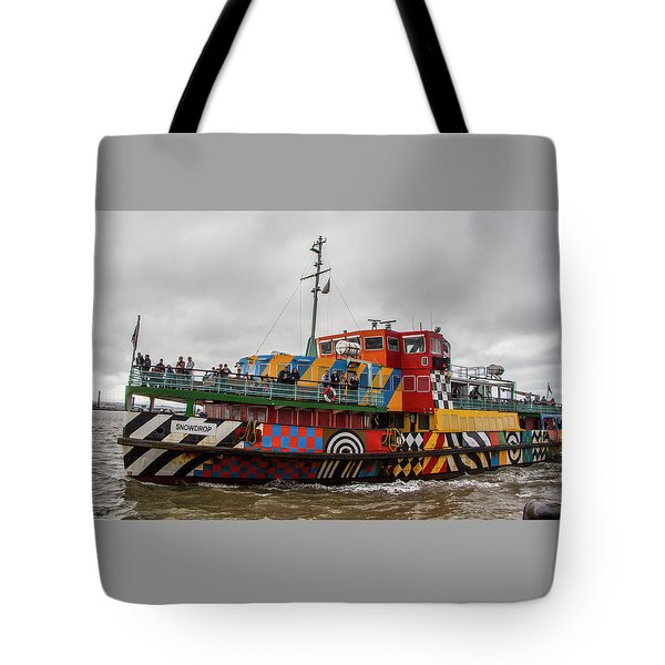 Ferry Cross The Mersey - Razzle Boat Snowdrop Tote Bag