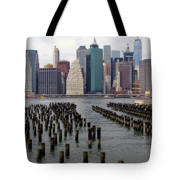 Ferry Hopping New York Tote Bag