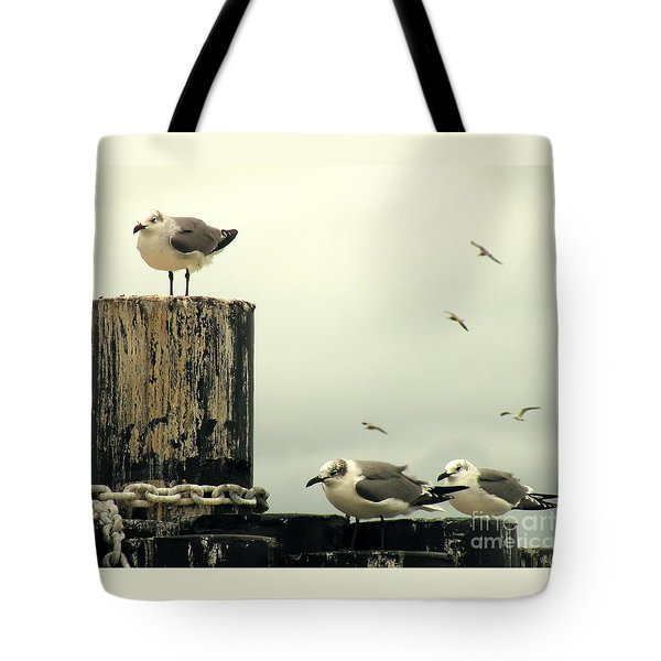 Ferry Hypnosis Tote Bag