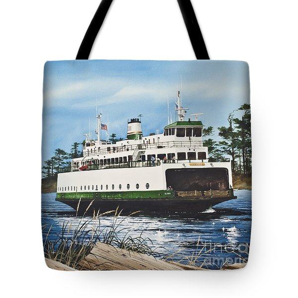 Ferry Illahee Tote Bag by James Williamson