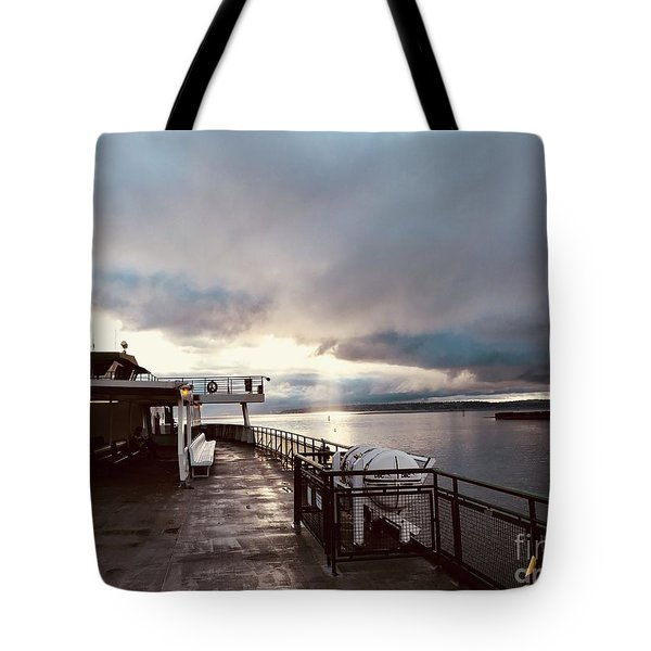 Ferry Morning Tote Bag