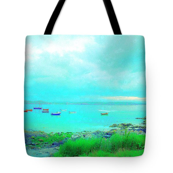 Ferry Wake Tote Bag