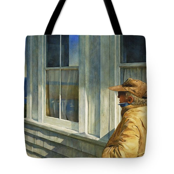 Ferry Watcher Tote Bag