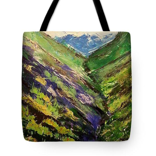 Fertile Valley Tote Bag