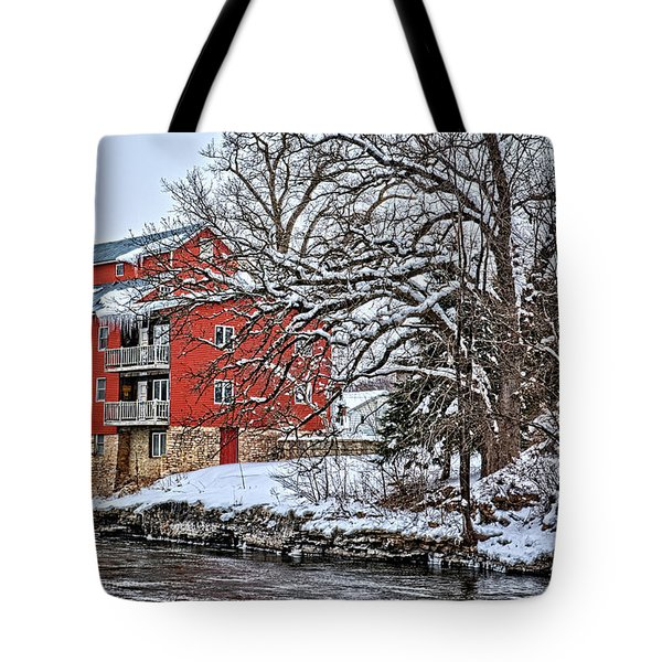 Fertile Winter Tote Bag by Bonfire Photography