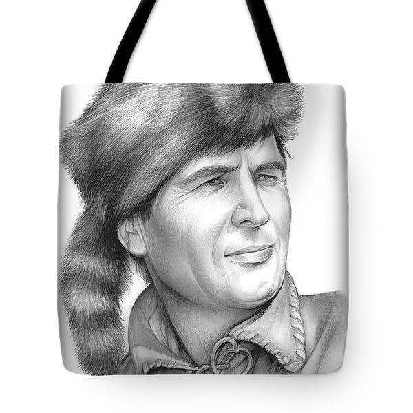 Fess Parker Tote Bag