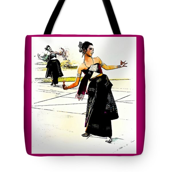Festival Celebration Tote Bag by Ian Gledhill
