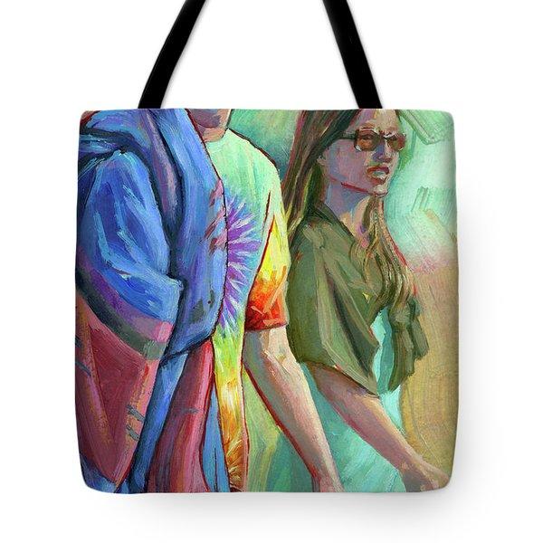 Festival Goers Tote Bag