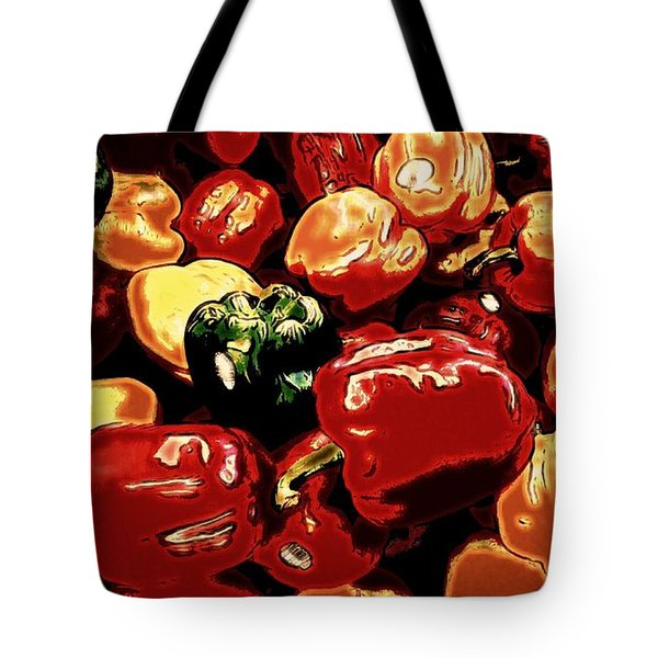 Festival Of Peppers Tote Bag