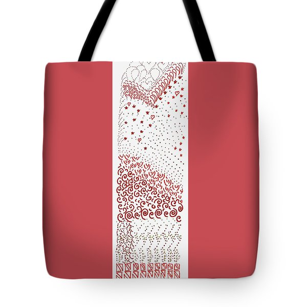 Festival Of Red And Orange Tote Bag