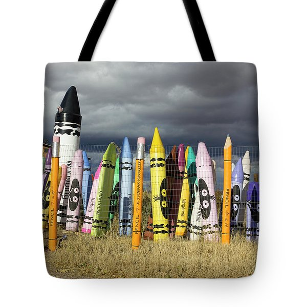 Festival Of The Crayons Tote Bag