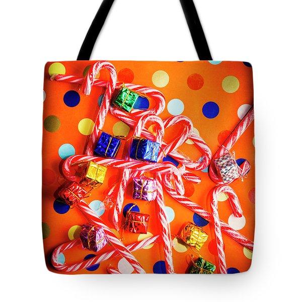 Festive Background Tote Bag