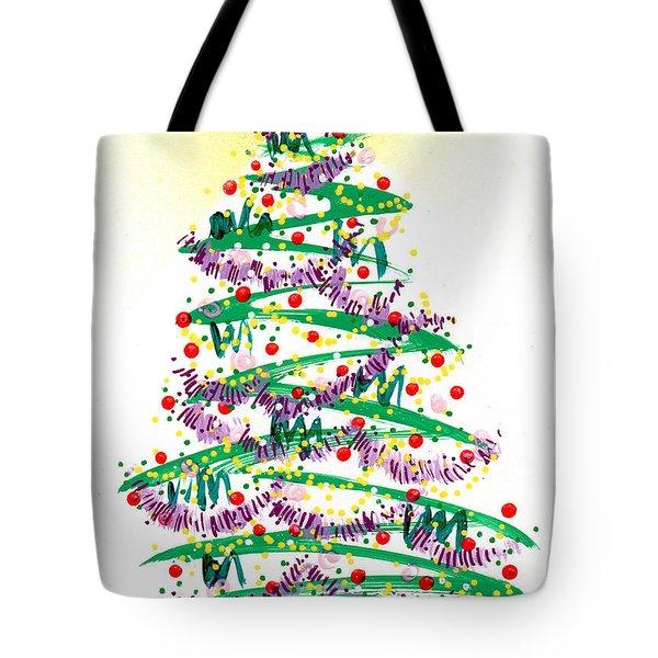 Festive Holiday Tote Bag