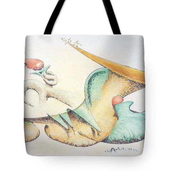 Festive Horn Tote Bag