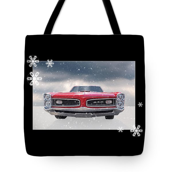 Festive Pontiac Gto Tote Bag