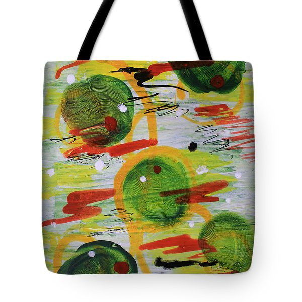 Festivity Balls Tote Bag