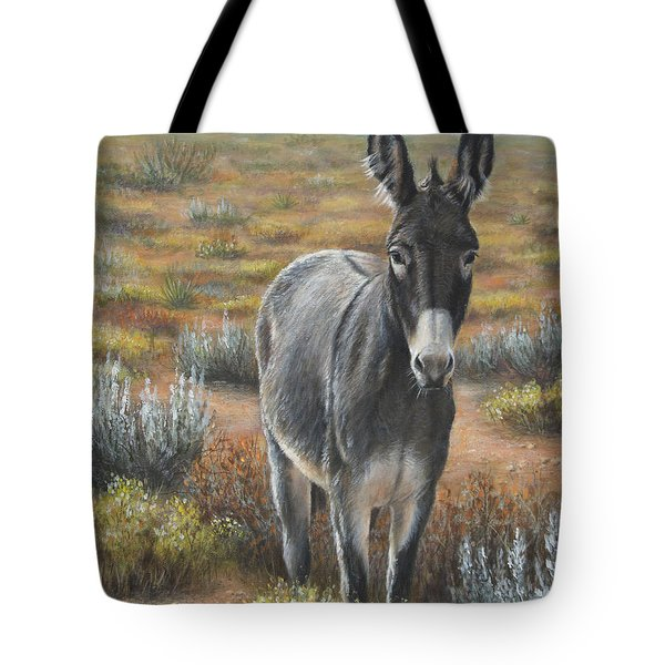 Tote Bag featuring the painting Festus by Kim Lockman