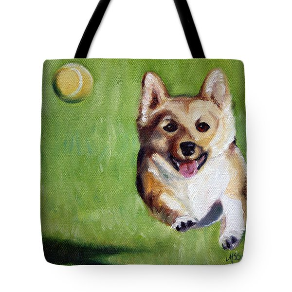 Fetch Tote Bag by Mary Sparrow