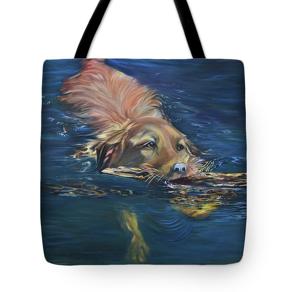 Fetching The Stick Tote Bag
