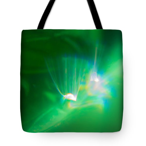 Tote Bag featuring the photograph Fibers by Greg Collins