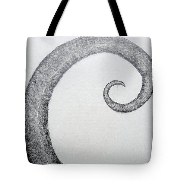 Fibonacci Spiral No.1 Tote Bag
