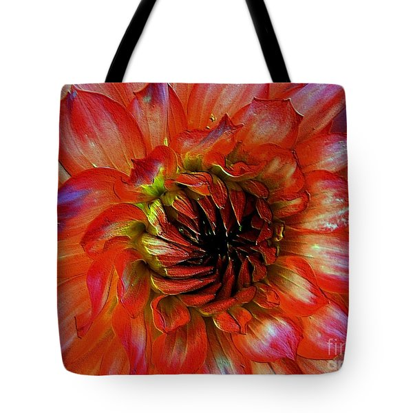 Tote Bag featuring the photograph Fickle by Elfriede Fulda