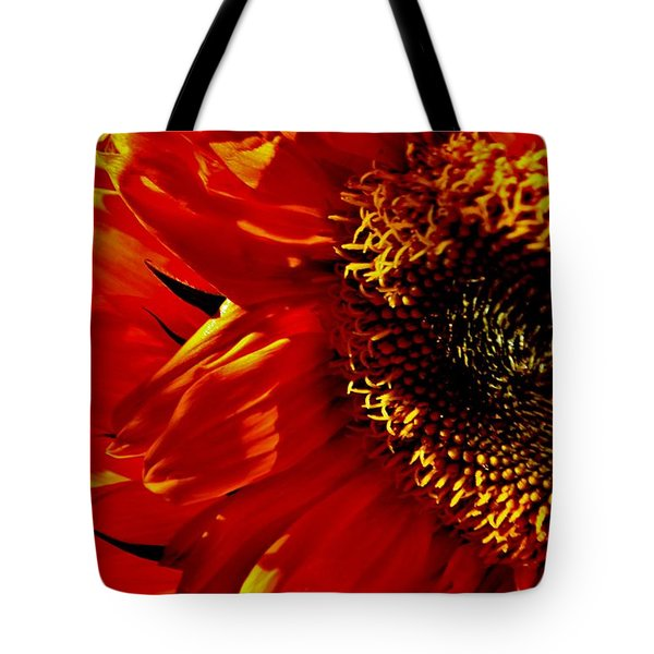 Fickle Sunflower Tote Bag