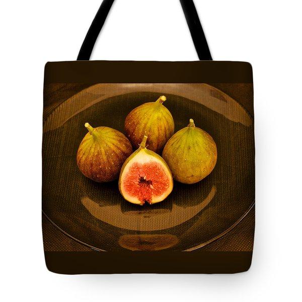Ficus Carica Common Fig Tote Bag