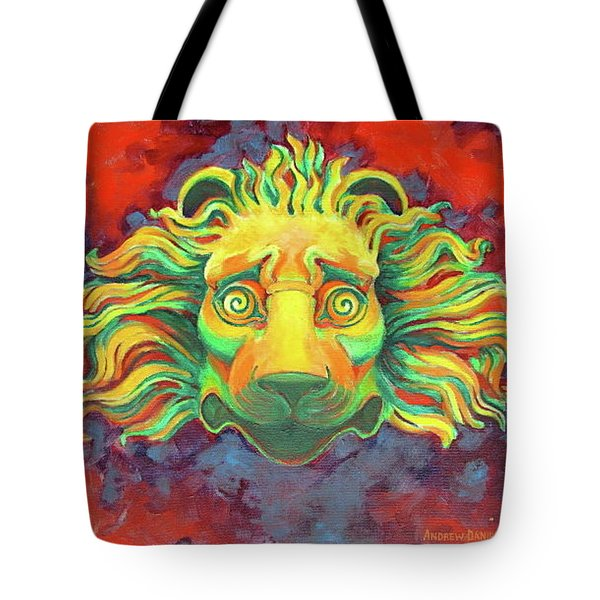 Fidardo's Lion Tote Bag by Andrew Danielsen
