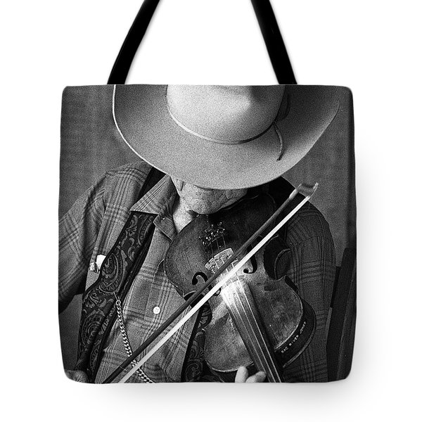 Tote Bag featuring the photograph Fiddler #1 by Jim Mathis