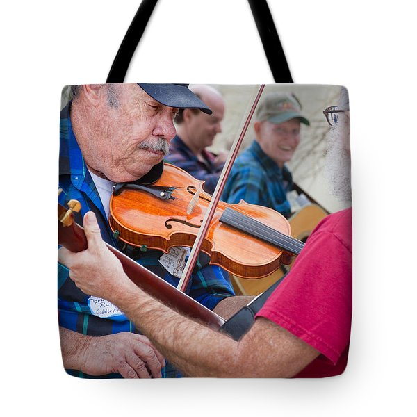 Fiddlers Contest Tote Bag