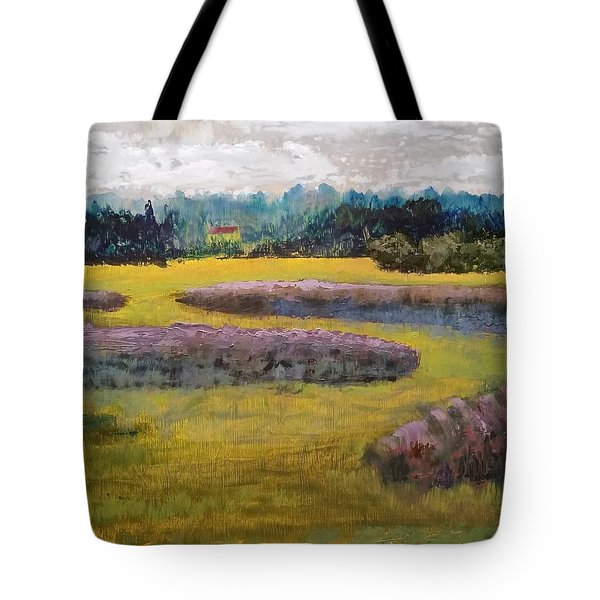 Fiddlers Ridge Marsh Tote Bag by Peter Senesac