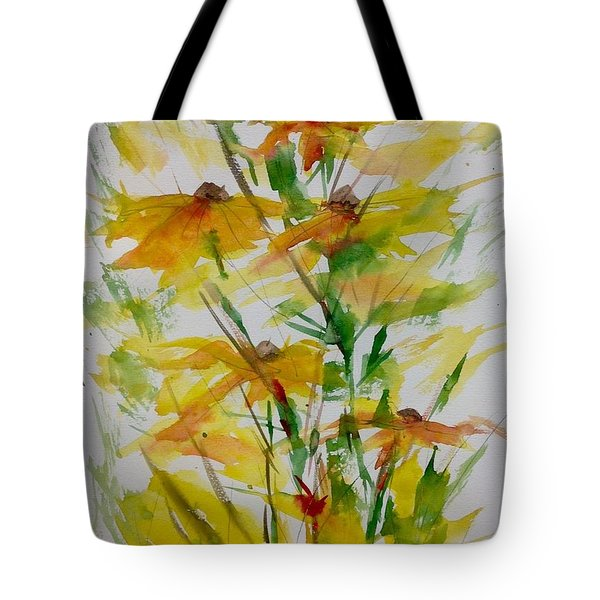 Field Bouquet Tote Bag