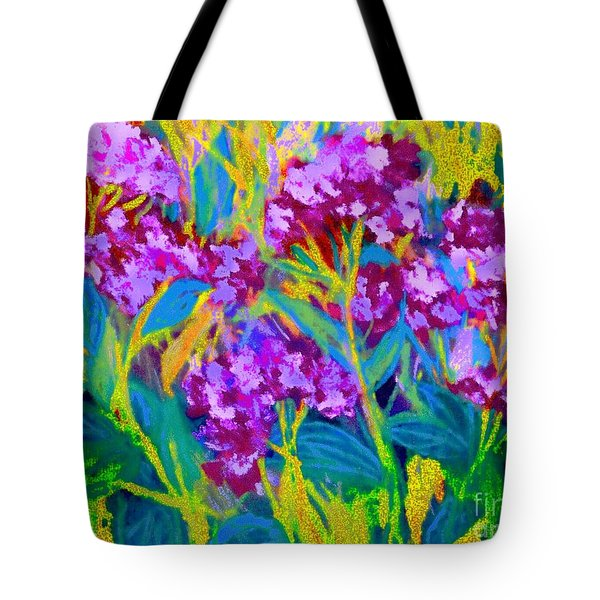 Field Flowers Tote Bag by Shirley Moravec