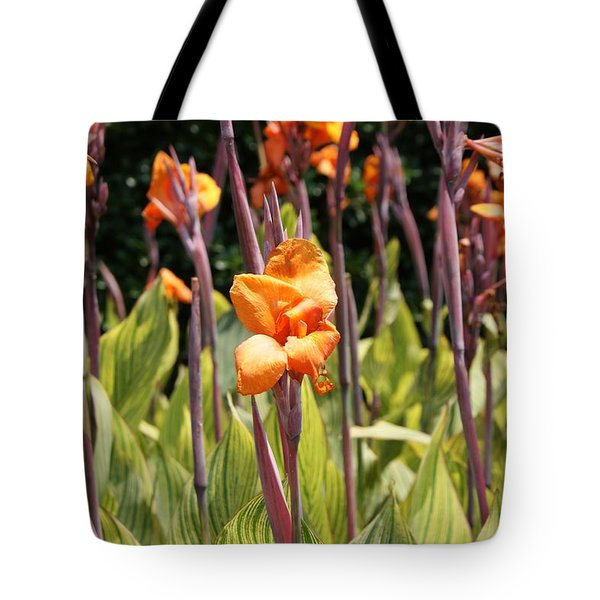 Field For Iris Tote Bag