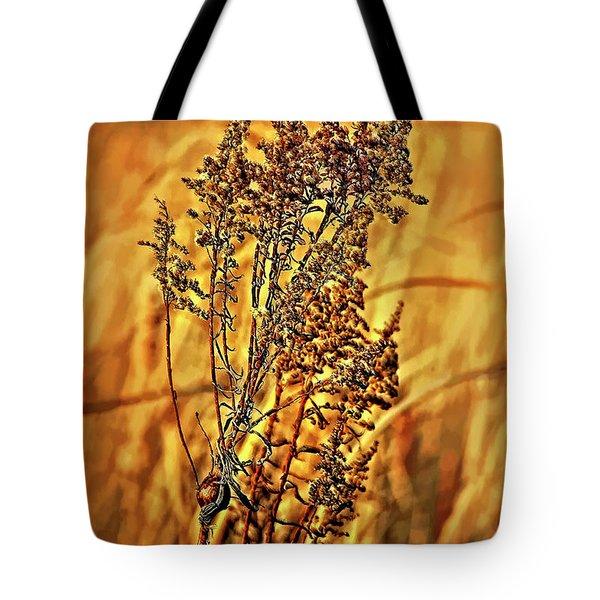 Field Frolic Tote Bag by Steve Harrington