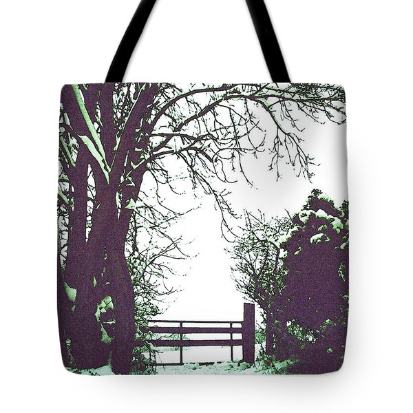 Field Gate Tote Bag by Anne Kotan