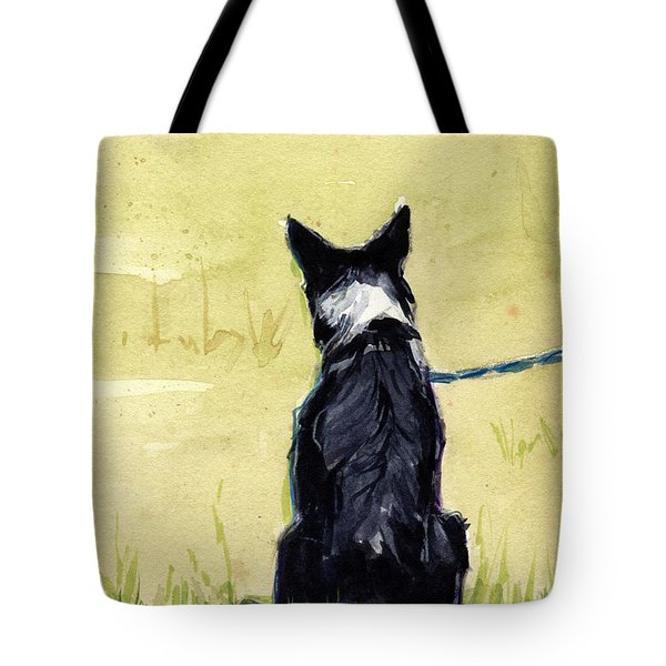 Field Greens Tote Bag by Molly Poole