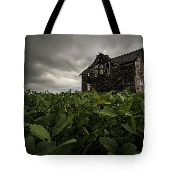 Field Of Beans/dreams Tote Bag