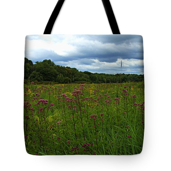 Field Of Color Tote Bag by Bruce Carpenter