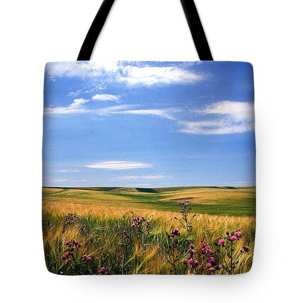 Field Of Dreams Tote Bag by Kathy Yates