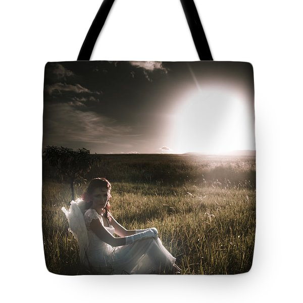 Tote Bag featuring the photograph Field Of Dreams by Jorgo Photography - Wall Art Gallery