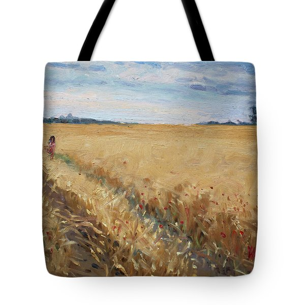Field Of Grain In Georgetown On Tote Bag