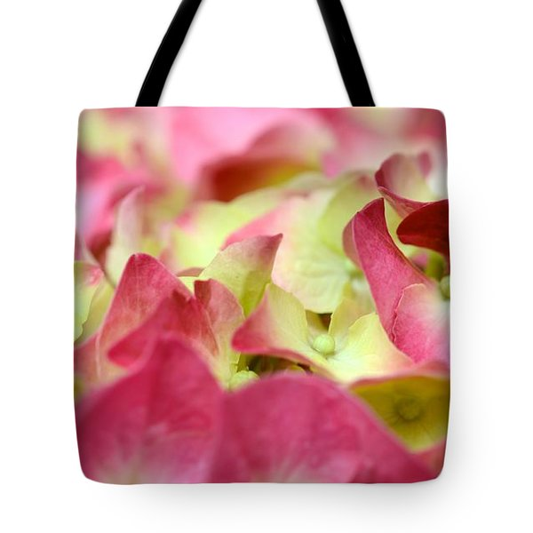 Tote Bag featuring the photograph Field Of Petals by Corinne Rhode