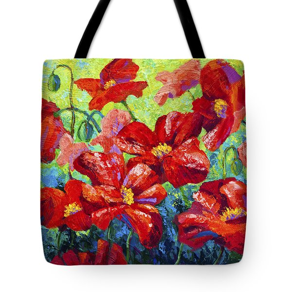 Field Of Red Poppies II Tote Bag