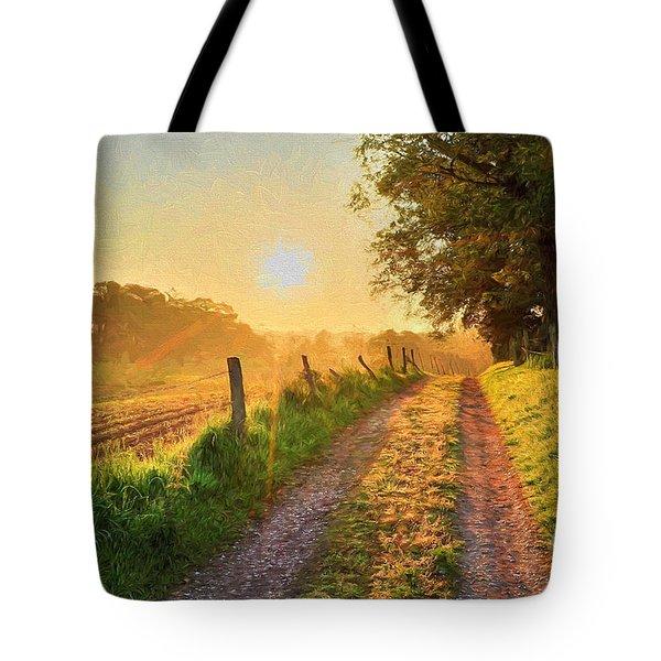 Field Road Tote Bag